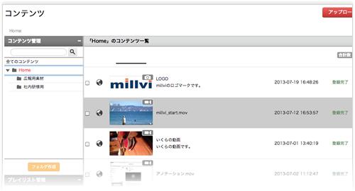 動画・画像・音声・PDFの管理